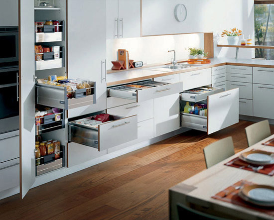 Video To Enhance That Dream Kitchen Shows The Soft Close Kitchen Drawer: drawers in kitchen design
