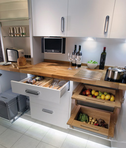 Kitchen Accessories 2 - kitchen accessories - gain extra space, look at these drawer