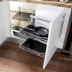 Video to enhance that dream kitchen shows a magic - Magic corner cabinet ...