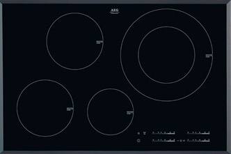 4-zone induction hob