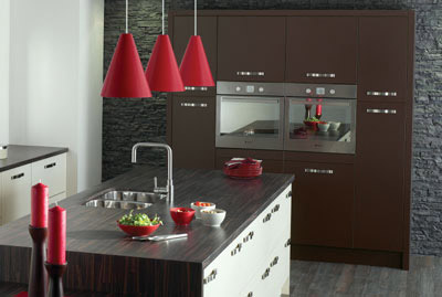 Kitchen as Alto in cream