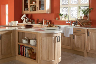 Kitchen as Kinsale Natural Oak