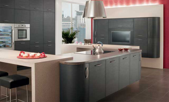 Kitchen as Tavola Oak Hacienda Black