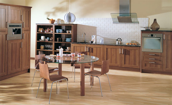 Kitchen as Verso Monza Walnut