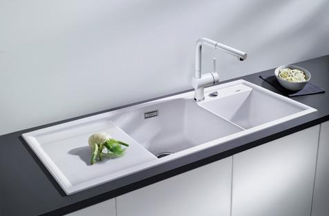 Dream kitchens selection of inset under mount - Lavelli cucina ceramica dolomite ...