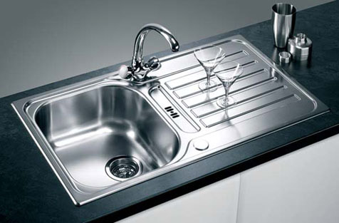 Dream Kitchens selection of Inset - Stainless Steel Kitchen Sinks